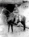 Mounted SIH man in France